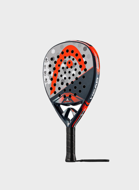 RACCHETTA ALPHA MOTION PADEL, NVYREDGREY, medium
