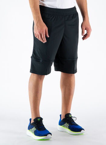 SHORTS TRAINING SESSION KNITTED, 01BLK, small