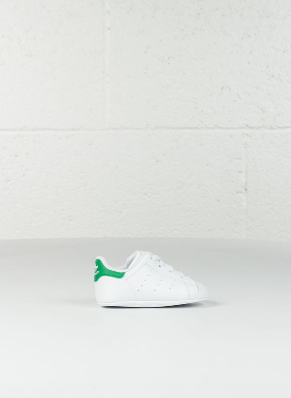 SCARPA STAN SMITH CRIB INFANT, WHTGREEN, medium