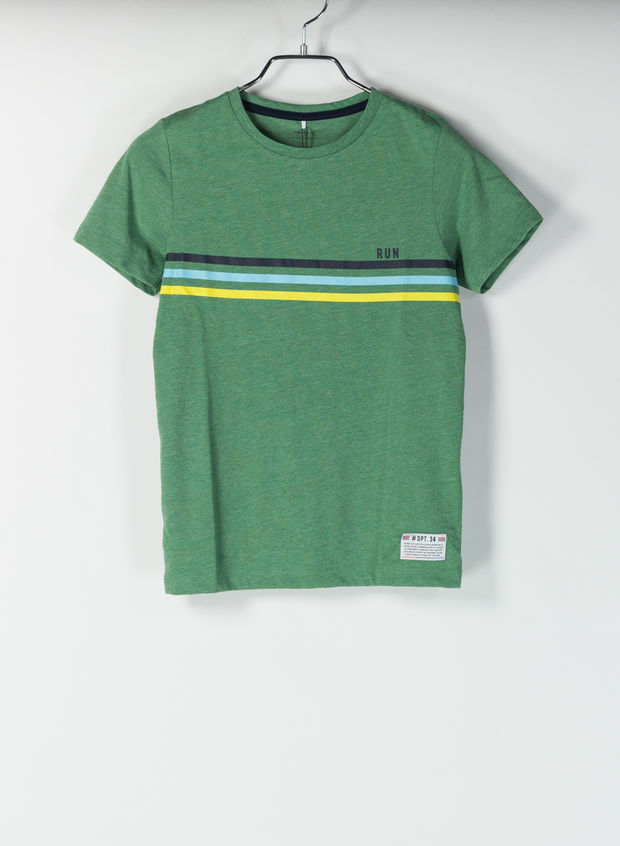 T-SHIRT DENNIS VINTAGE, GREEN, large