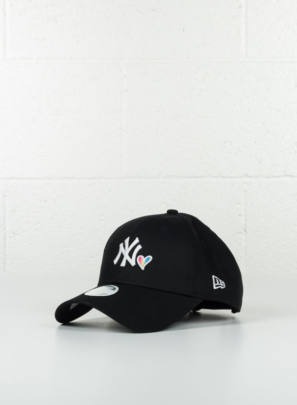CAPPELLO NYY 9FORTY RAINDOW, BLK, medium