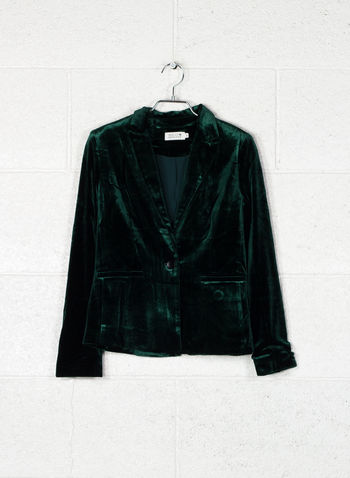 GIACCA VELLUTO, DARK GREEN, small