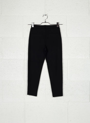 PANTALONE IDA LACCETTO STRETCH RAGAZZA, BLK, small