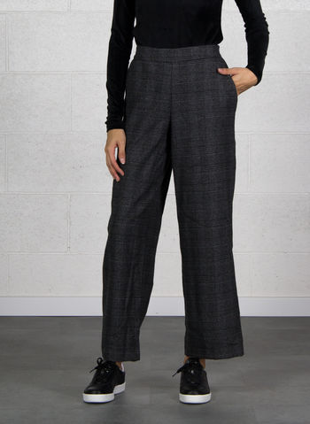 PANTALONE INA CHECK, DARK GREY, small