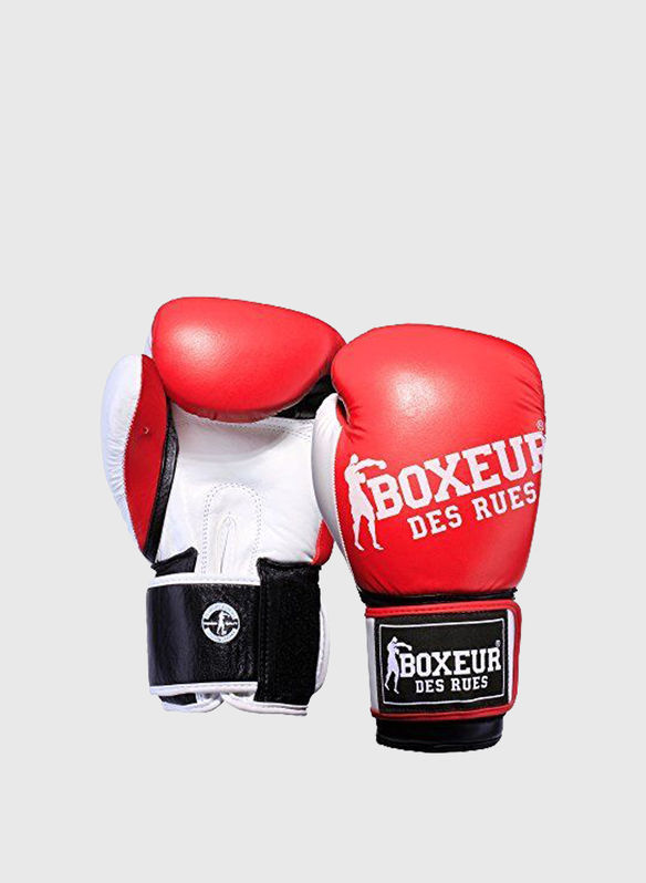 GUANTO BOXE IMPACT 6OZ RAGAZZO, RED, medium