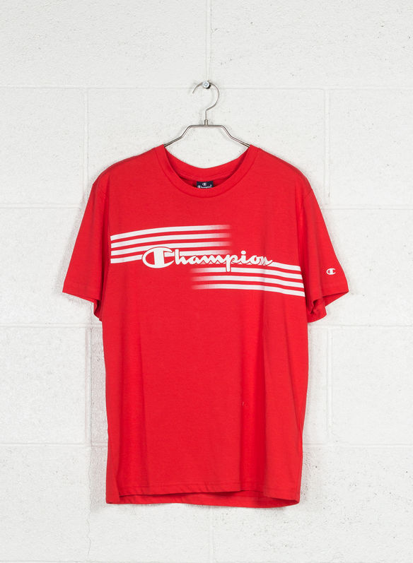 T-SHIRT GRAPHIC AUTHENTIC, RS041RED, medium