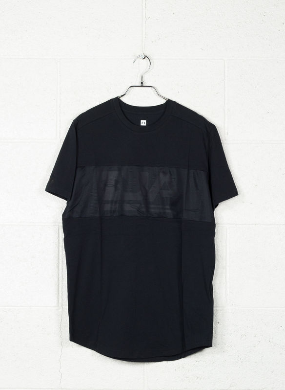 T-SHIRT GRAPHIC MESH, 001BLK, medium