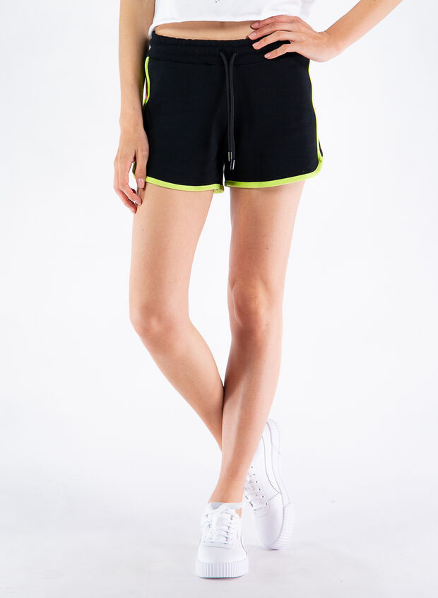 SHORTS INSERTO FLUO, NERO, large