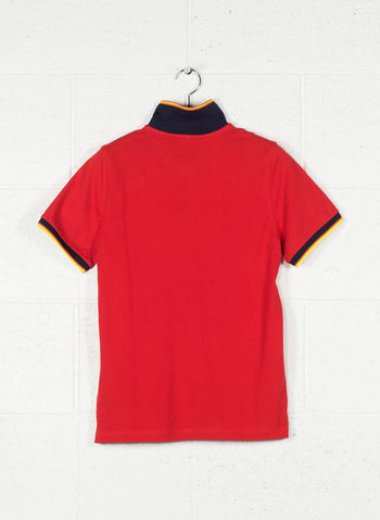 POLO VINCENT CONTRAST, K08RED, small