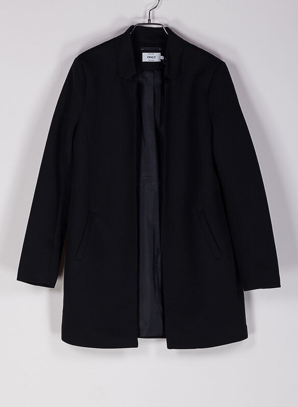 CAPPOTTO SOLID, BLK, medium