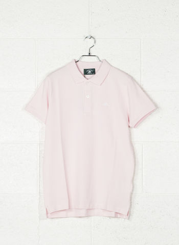 POLO STRECH PIQUET, PINK, small