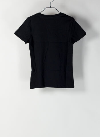 T-SHIRT ALPHA RAGAZZA, 01BLK, small