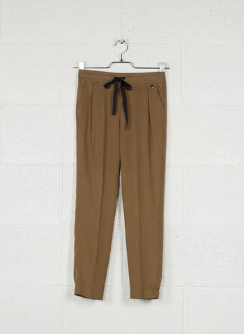 PANTALONE COULISSE, TABACCO, small