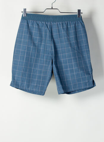 SHORTS COSTUME CHECK CLX, NVY, small