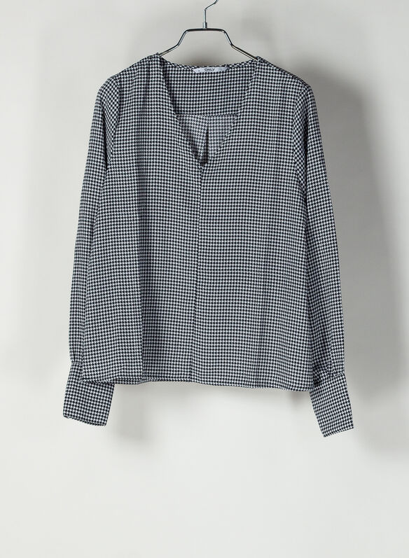 CAMICIA FRANCY PIED DE POUL, CLOUD, medium