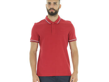 POLO L73 PIQUET BORDINI , RED RUBIN, small