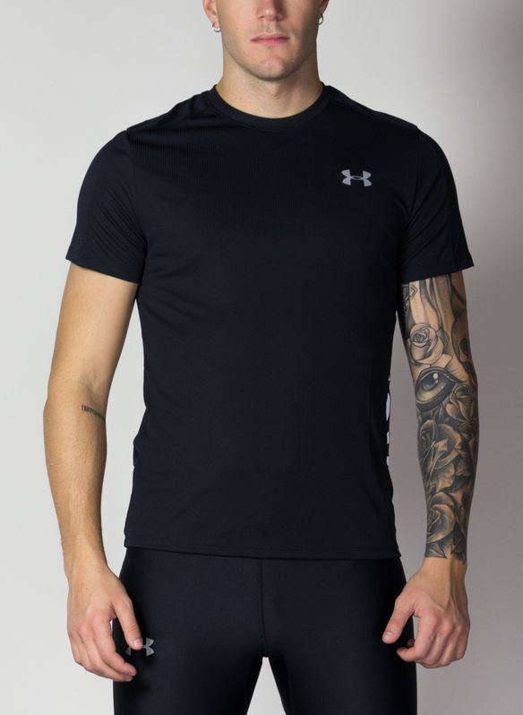 T-SHIRT SPEED STRIDE SPLIT, BLK, medium