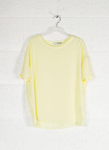 BLUSA MC LIGHT, GIALLO, small