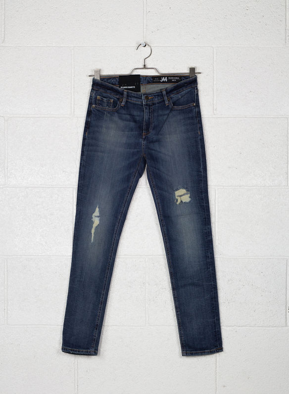 JEANS RELAXED GIRL FRIENDS ROTTURE, 1500DENIM, medium