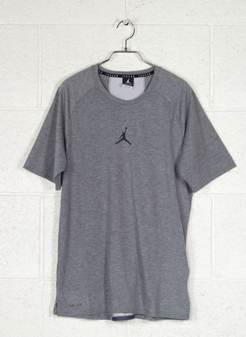 T-SHIRT JORDAN DRY JUMPMAN, 091GREY, small