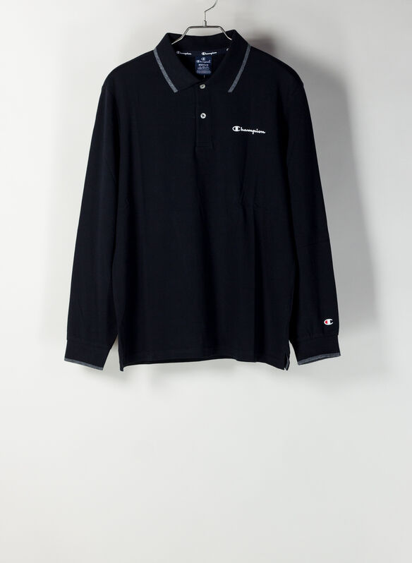 POLO PIQUET, KK001BLK, medium