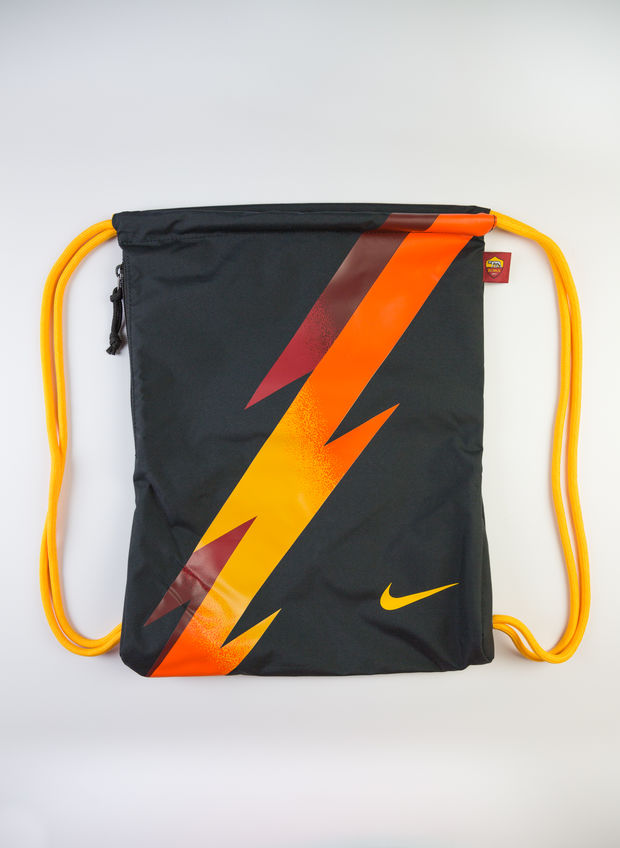 GYMSACK AS ROMA 2019-20, 010BLK, large