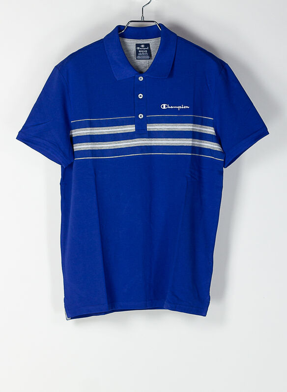 POLO PIQUET STRIPES, BS003BLUE, medium