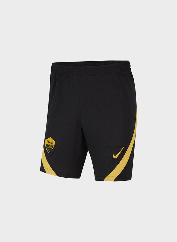 SHORTS A.S. ROMA STRIKE 2020-21, 010BLK, medium