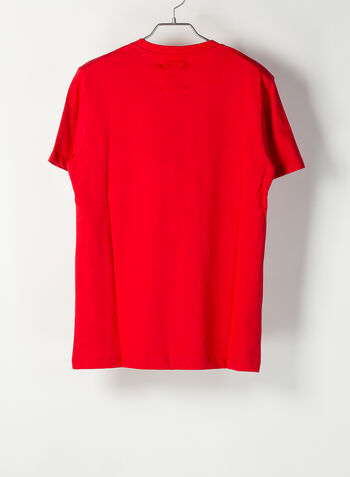 T-SHIRT BIG LOGO, ROSSO, small