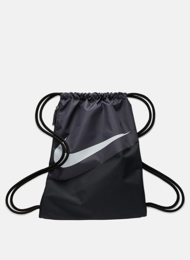 GYM SACK HERITAGE, 010BLKGREY, large