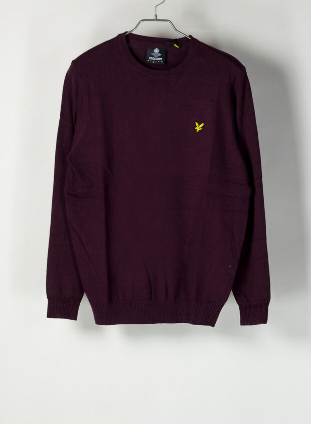 MAGLIONE JUMPER, Z562BURGUNDY, large