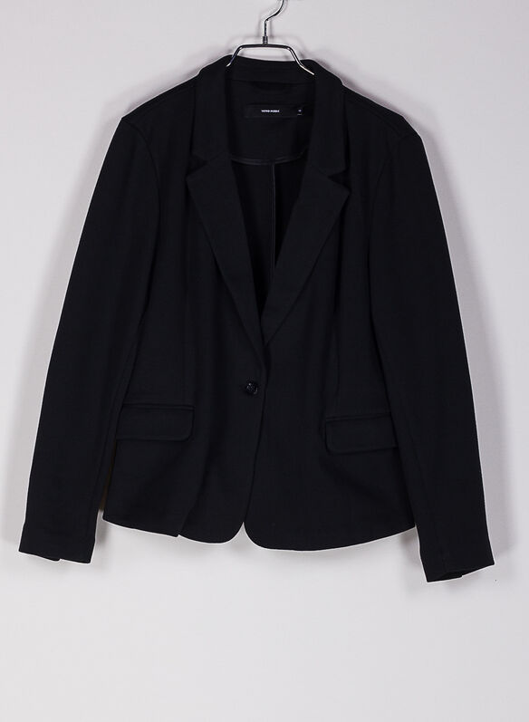 BLAZER JULIA, BLACK, medium