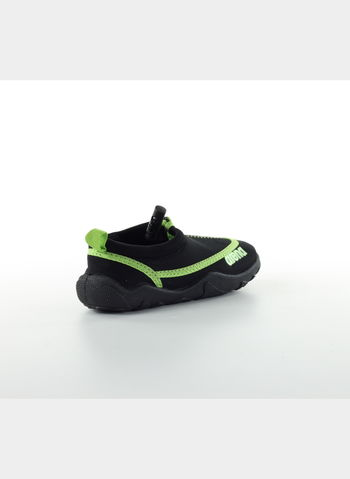 SCARPETTA BOW JUNIOR, 50BLKLIME, small
