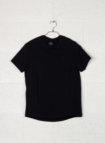 T-SHIRT SMALL LOGO, 1200BLK, small
