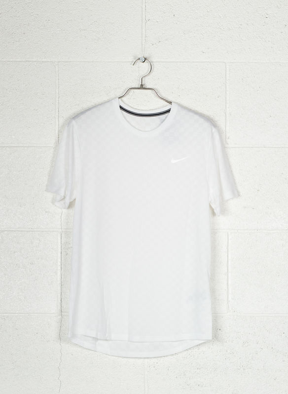T-SHIRT COURT CHALLENGER, 100WHT, medium