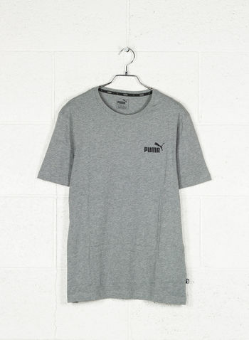 T-SHIRT ESSENTIALS CON LOGO PICCOLO, 03GREY, small