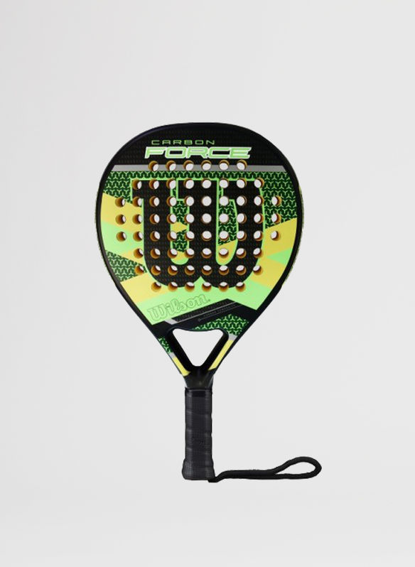 RACCHETTA CARBON FORCE PADDLE, GREENBLK, medium
