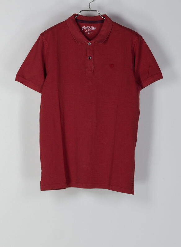 POLO WASH, RED, medium