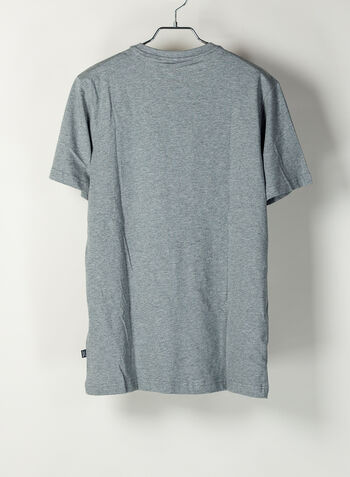 T-SHIRT ESSENTIAL LOGO, 03GREY, small
