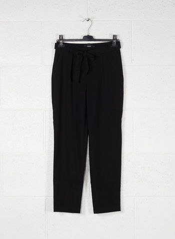 PANTALONE MICHELLE FIOCCO, BLACK, small