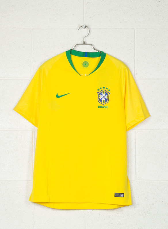 MAGLIA BRASIL CBF STADIUM HOME 2018, 749YEL, medium