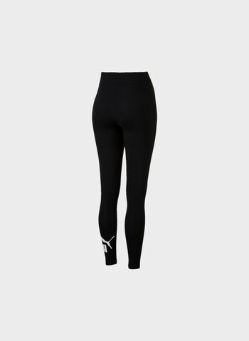 LEGGINGS CON LOGO ESSENTIALS, 01BLKWHT, small