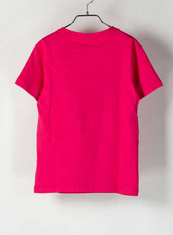 T-SHIRT ORIGINALS RAGAZZA, FUXIA, small
