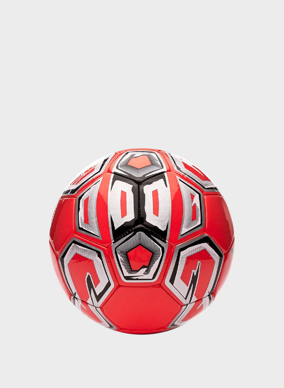 PALLONE CALCETTO FUTSAL 1 TRAINER MS INDOOR, RED, medium