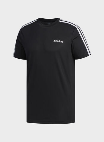T-SHIRT DESIGNED 2 MOVE 3-STRIPES, BLK, small