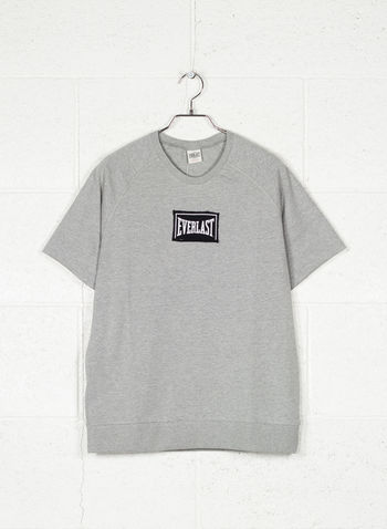 T-SHIRT GIRO LOGO LIGHT, M000GREY, small