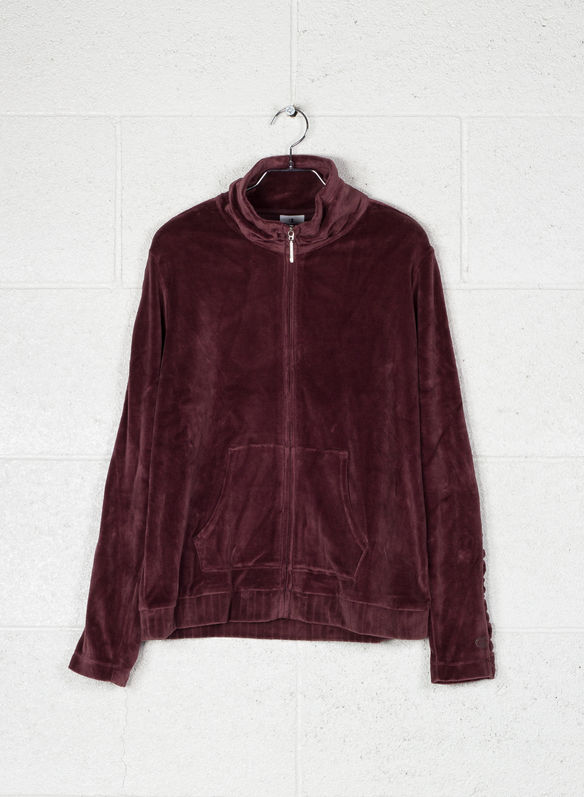 FELPA LADY VELOUR, RS514BORDO, medium
