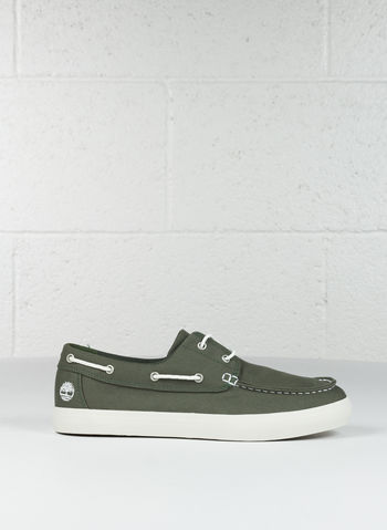 SCARPE NEWPORT BAY 2-EYE BOAT OXFORD, OLIVE, small