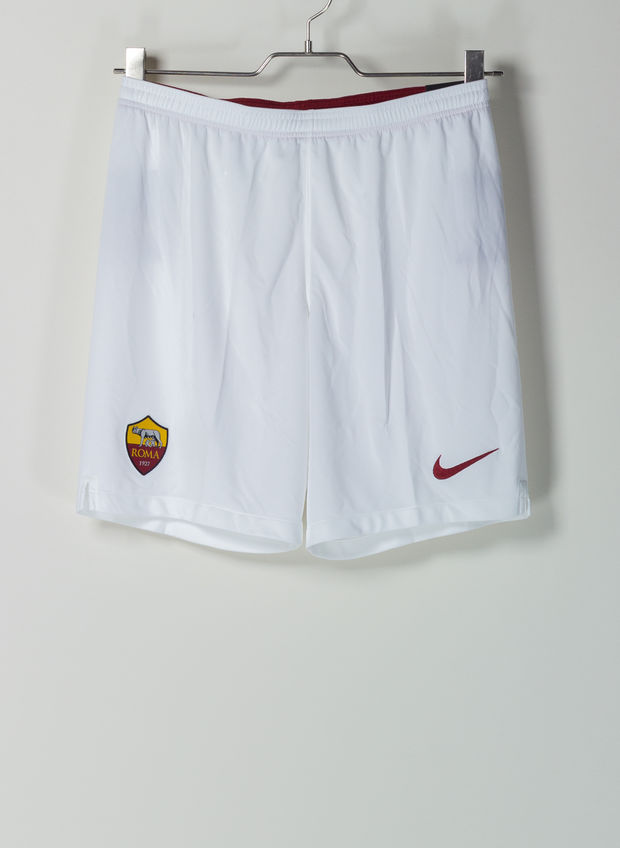 SHORTS AS ROMA 2019-20 HOME, 100WHT, large
