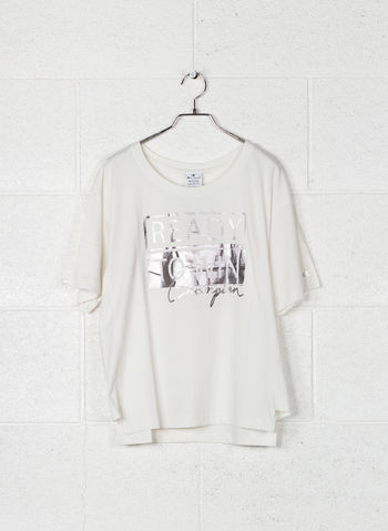 T-SHIRT LADY STAMPA, ES001PANNA, small